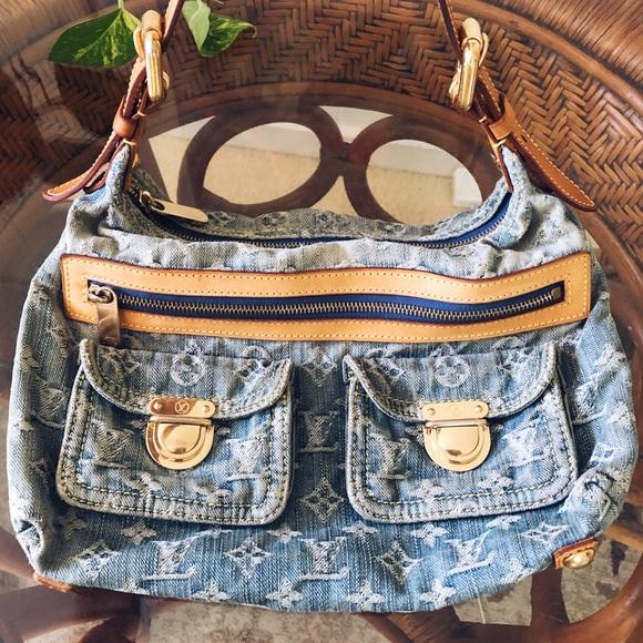 Louis Vuitton Handbags - Louis Vuitton Denim Baggy PM Bag